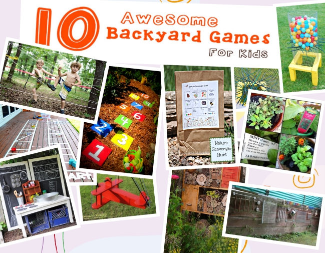 10 Awesome Backyard Games for Kids