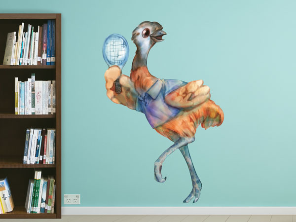 Emu Wall Stickers / Mural